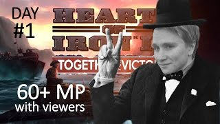HoI4 - 60+ Viewer multiplayer - Part 1 of 3