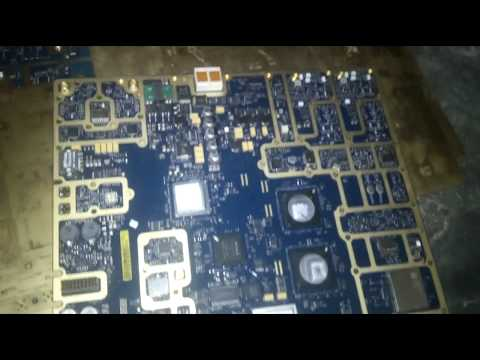 Gold recovery & refining High Grade Gold Plated Telecom Board.