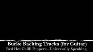 Red Hot Chilli Peppers Universally Speaking Backing Track