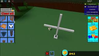 How To Build A walking Thingy /Roblox Build a boat for treasure