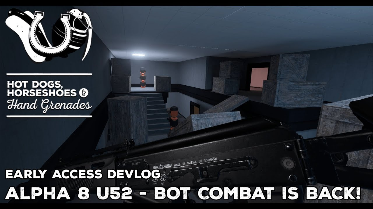 H3VR: Alpha 8 of Update 52 - Bot Combat is Back! New Local Reverb System & More!