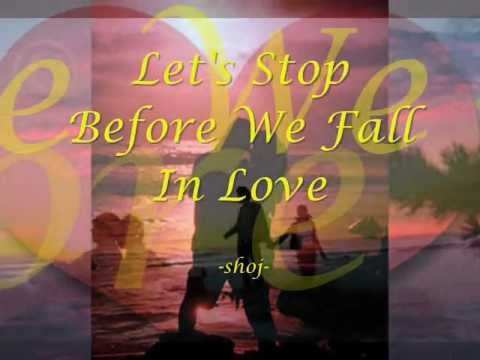 Let's Stop before We Fall In Love - Norman Saleet lyrics