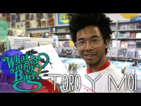 Toro Y Moi - What's In My Bag?