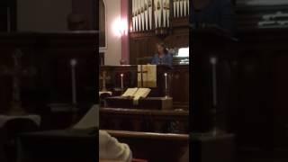 Nicole Wright Thanksgiving Sermon