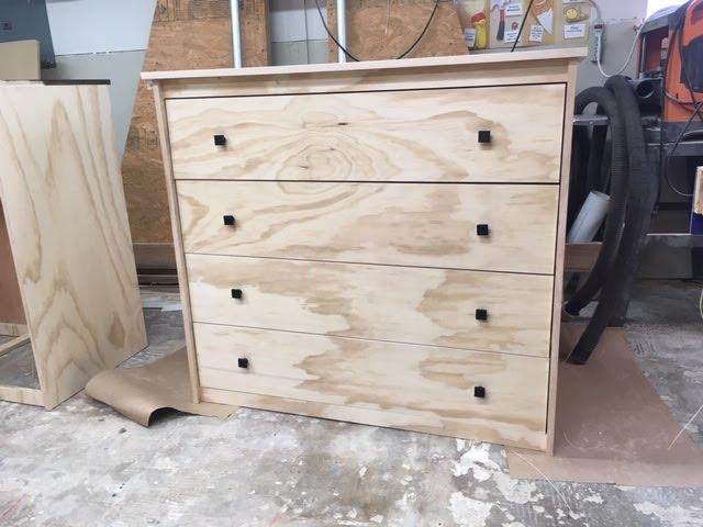 Build A 3 Drawer Dresser Youtube