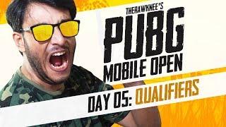 PUBG MOBILE TOURNAMENT: DAY 5 | THERAWKNEE'S PUBG MOBILE OPEN
