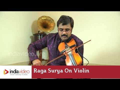 Raga Series - Raga Surya on Violin by Jayadevan