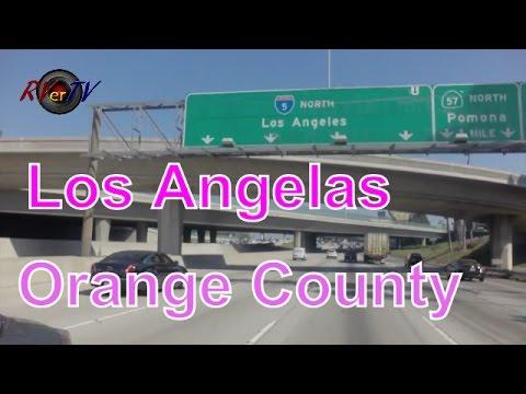 Leaving Southern Cal...LA Traffic...Orange County...Hollywood..Pacific Ocean...RVerTV