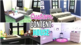 The Sims 4 : Custom Content House Build