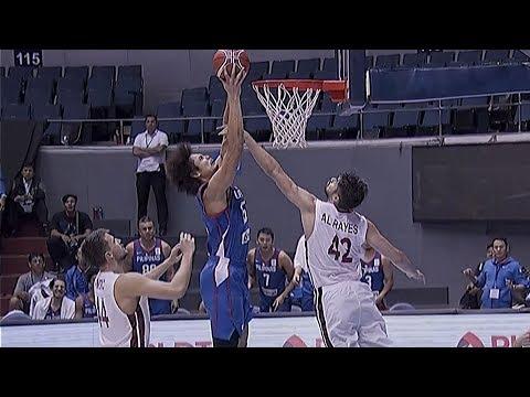 Gilas Pilipinas def. Qatar, 92-81 (REPLAY VIDEO) September 17 / FIBA World Cup Asian Qualifiers