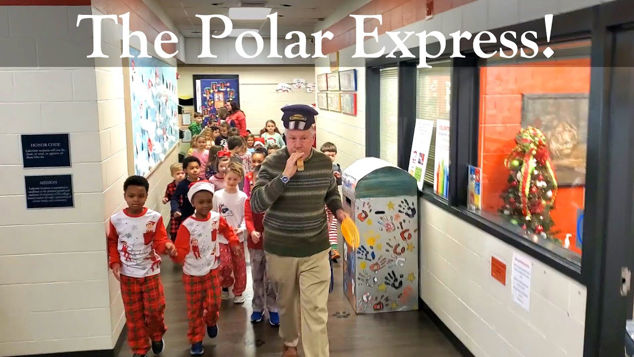 2019-12-19: Second Grade Hosts Kindergarten to The Polar Express