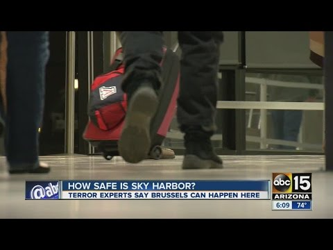 How safe is Sky Harbor airport?