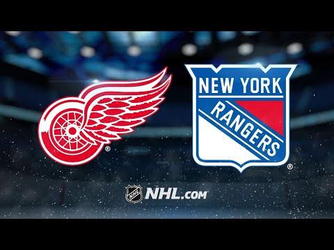Daley, Howard lead Red Wings against Rangers, 3-2
