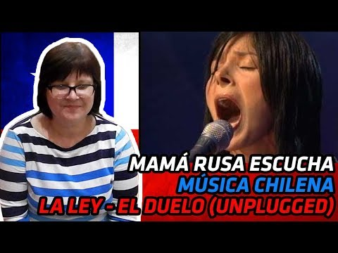 RUSSIANS REACT TO CHILEAN MUSIC | La Ley - El Duelo (unplugged) | REACTION