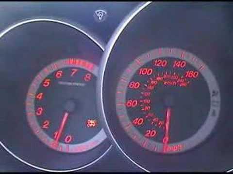 Mazdaspeed 3 0-60 in 5.5sec Turbo Stock