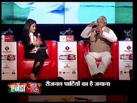 Agenda Aaj Tak: Lalu tears into Nitish's