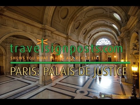 Palais de  Justice, Paris