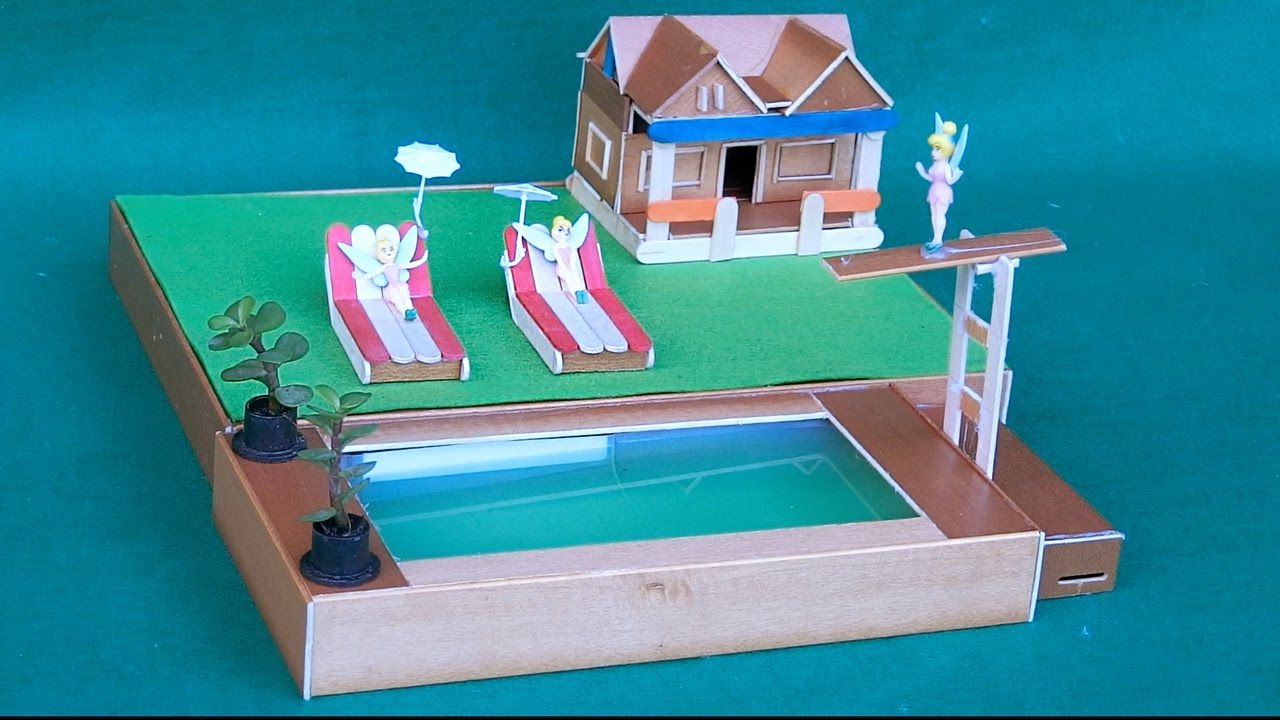 Diy swimming pool for fairy garden crafts ideas youtube - How to make a homemade swimming pool ...