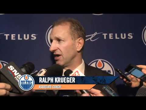 POST-GAME Edmonton  Oilers at Toronto.mp4