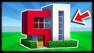 COMMENT CONSTRUIRE UNE MAISON MODERNE ? 🏠🏠 Tuto Build Minecraft