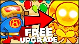 EACH SUB = TROLL | GET A FREE UPGRADE ON EACH ROUND CHALLENGE | BLOONS TD 5 (Bloons Tower Defense 5)
