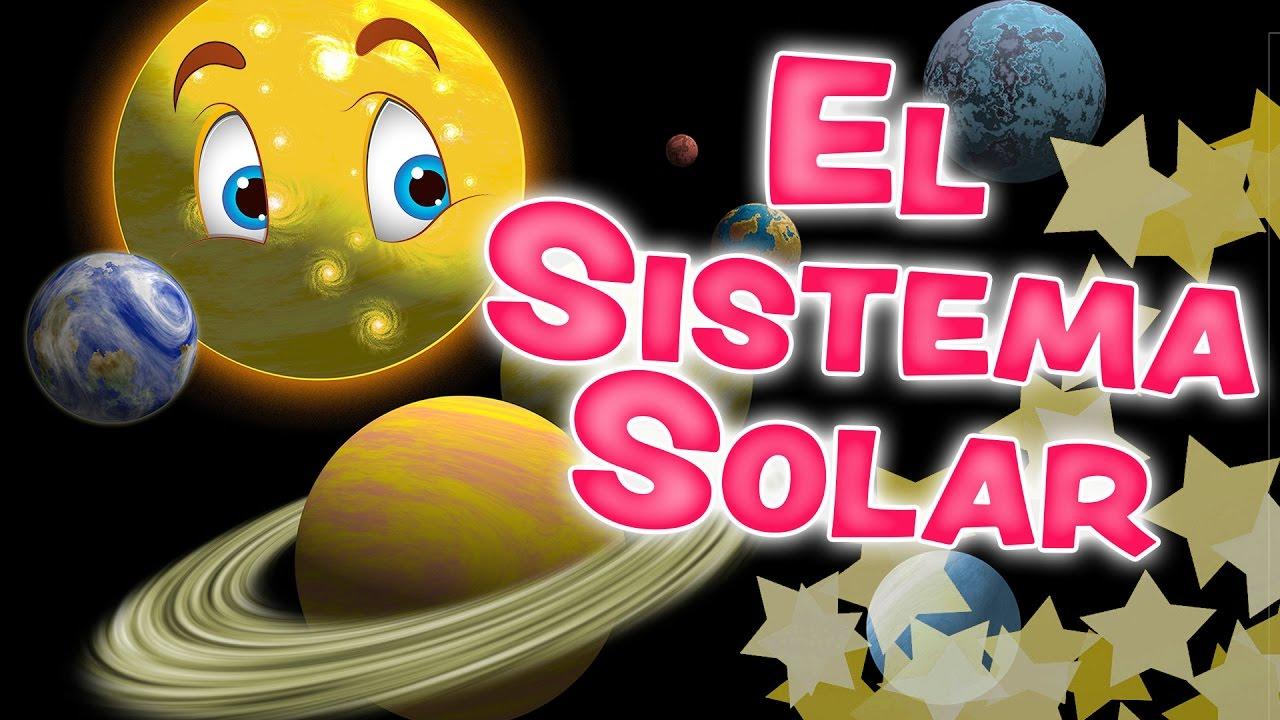 El Sistema Solar Para Niños Los Planetas En Inglés Y Español