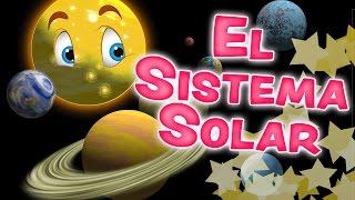 El SISTEMA SOLAR para niños - Los Planetas en inglés y español