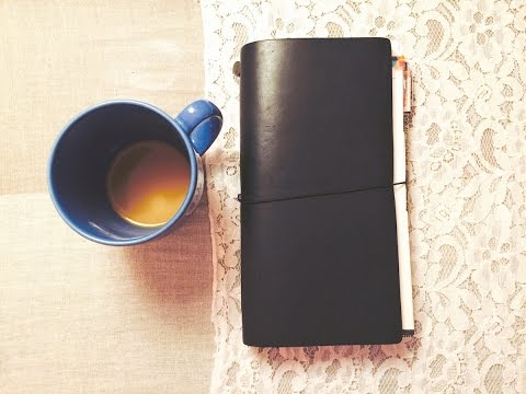 A Beginner's Midori Traveler's Notebook Setup 2015