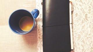 a beginner s midori traveler s notebook setup 2015