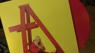 BILLIE EILISH DON'T SMILE AT ME LIMITED EDITION OPAQUE ORANGE UNBOXING
