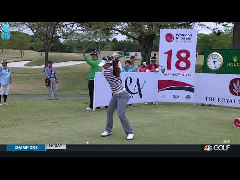 Hip Master Atthaya Thitikul Golf Swing Slow Motion 2019 Mp3