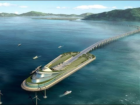 💎 China Mega Project Hengqin Island, Zhuhai 横琴岛 - 珠海 (CGI)