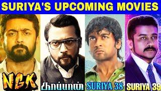 Suriya's Upcoming Movies : NGK, Kaappaan   Suriya 38   Suriya 39   Yuvan   Sai Pallavi