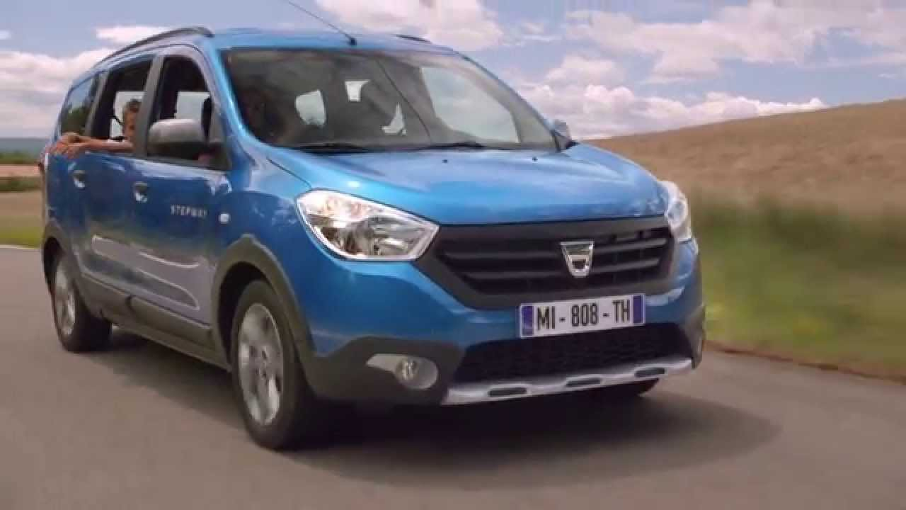 dacia lodgy stepway youtube. Black Bedroom Furniture Sets. Home Design Ideas