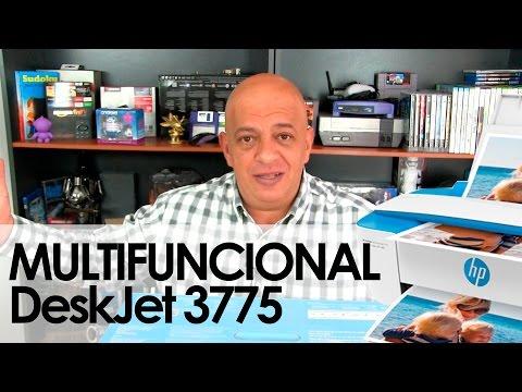 HP DeskJet 3775: Unboxing y primeras impresiones