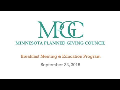 MPGC Breakfast & Education Program - September 2015
