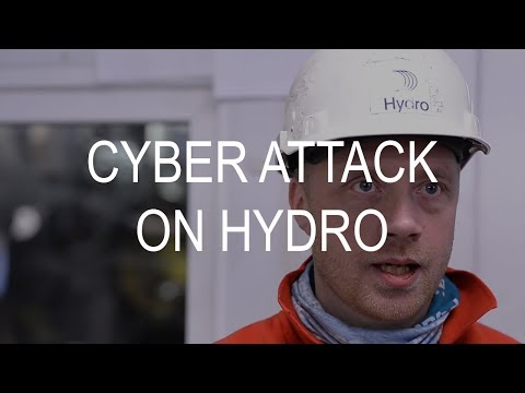 Cyber attack on Hydro Magnor