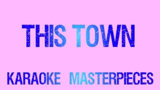 This Town Originally by Niall Horan Instrumental Karaoke COVER