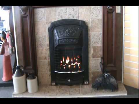 Adorn Gas Coal Fireplace Video Youtube