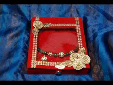 Decorative Jewellery Boxes Gorgeous Jewellery Boxes Bangle Box Chain Box Decorative Return Gifts Decorating Design