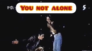 Michael jackson-you not alone live em ...