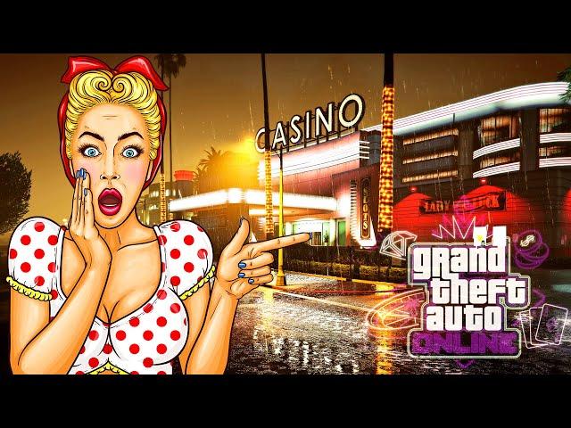مفاجأة الصيف إفتتاح كازينو فخم في قراند أونلاين | GTA V Luxury Casino Update