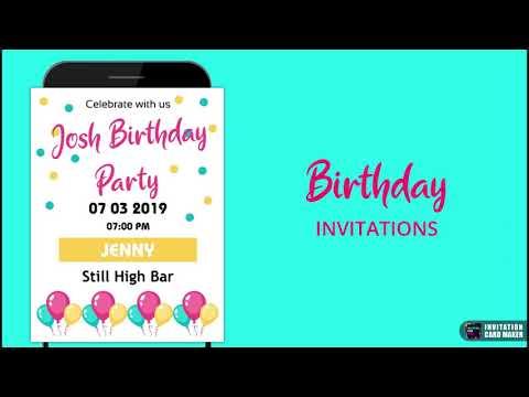 Invitation Card Maker Ecards Digital Invites 1 4 Apk