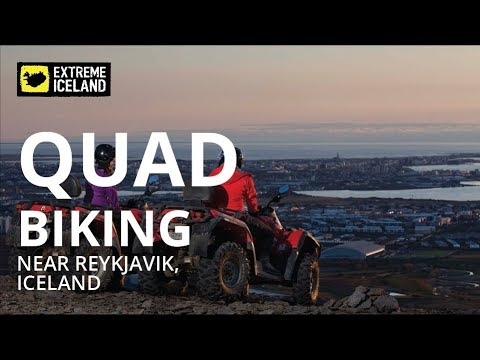 Quad Biking near Reykjavik, Iceland