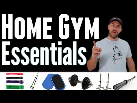 Home Gym Essentials: Walk Through Tour - The Best Bang For Your Buck!