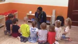Пример урока по курсу Развивающий английский с носителями