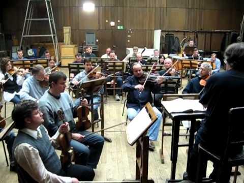 The Rehersal of Bohemia Symphony Orchestra Prague at State Opera Prague.mp4