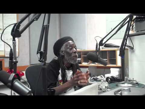 Garth Dennis Interview , TrenchTown 19 3RD ST @ KPFK part 1