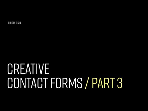 Creative Contact Forms (Part 3)