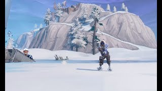 FORTNITE Skating with Tom Brady (not really)